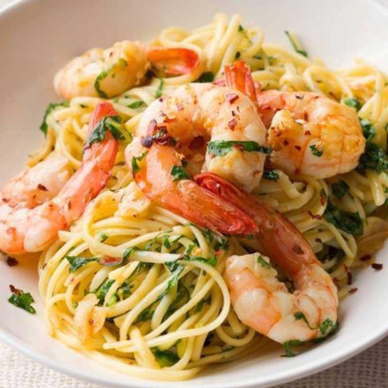 Shrimp Scampi from Casa Carbone
