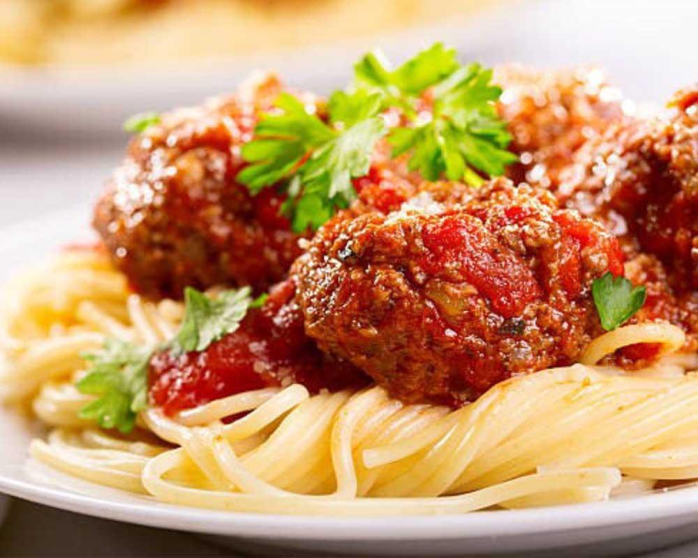 Casa Carbone - spaghetti with meatballs
